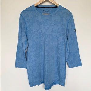 Under Armour Womens Blue Long Sleeve Shirt